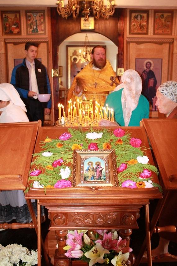 Престольный праздник в Белом: с благодатью в сердце