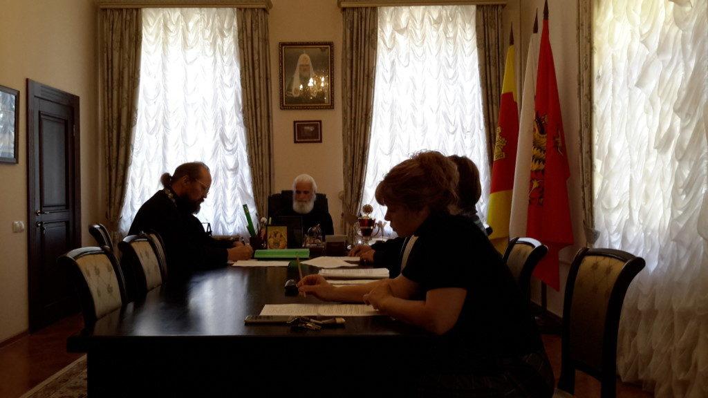 Совместное совещание с Оленинским благочинием