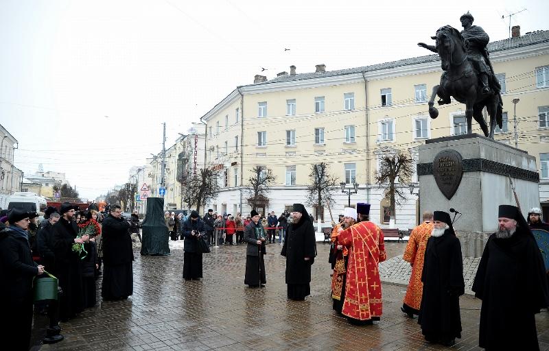 В честь 700-летия подвига благоверного князя Михаила Тверского