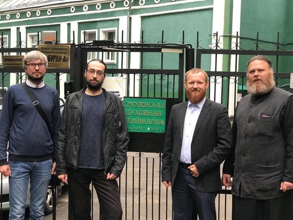 Делегаты Ржевской епархии прошли вступительные испытания в Смоленской Православной Духовной Семинарии