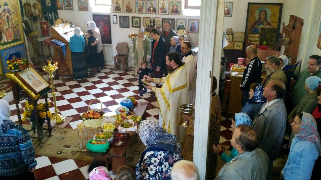 Праздник Преображения Господня в храме Покрова Пресвятой Богородицы