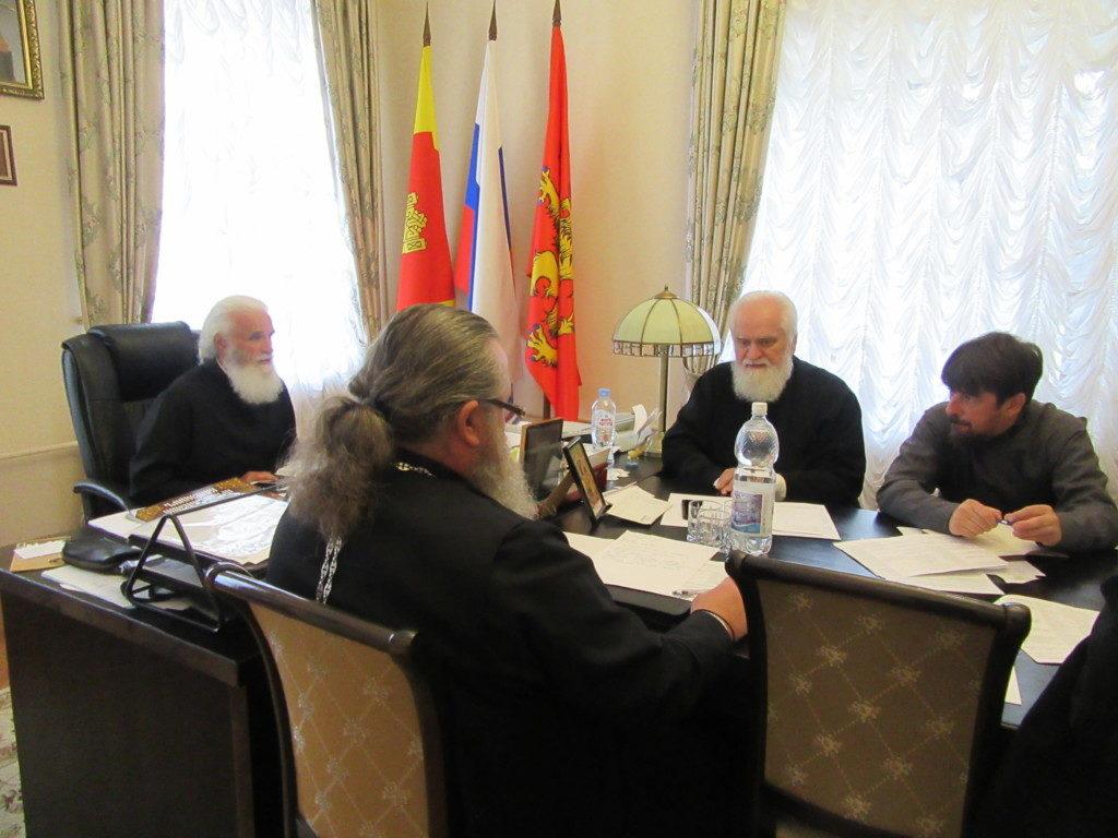 Заседание Епархиального совета Ржевской епархии