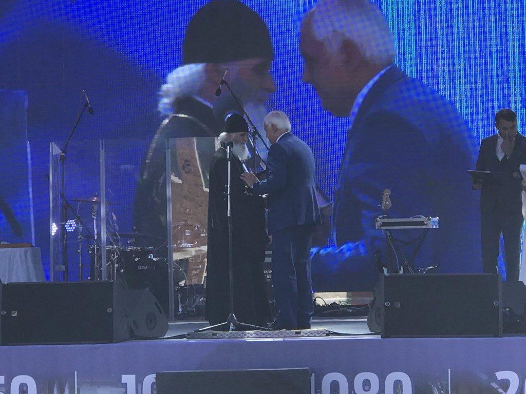Поздравление сотрудников ПАО «Электромеханика» с 80-летним юбилеем