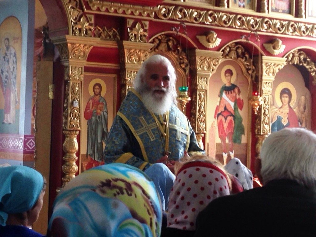 Престольный праздник в храме Владимирской иконы Божией Матери.