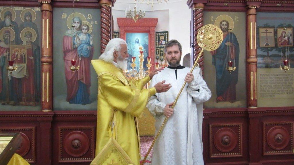 Диаконская хиротония в день памяти прпп. Антония и Феодосия Печерских