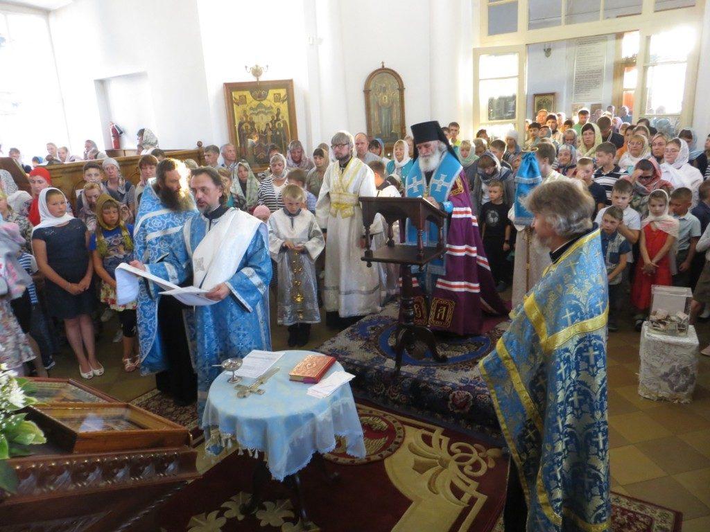 Архиерейский молебен на начало учебного года