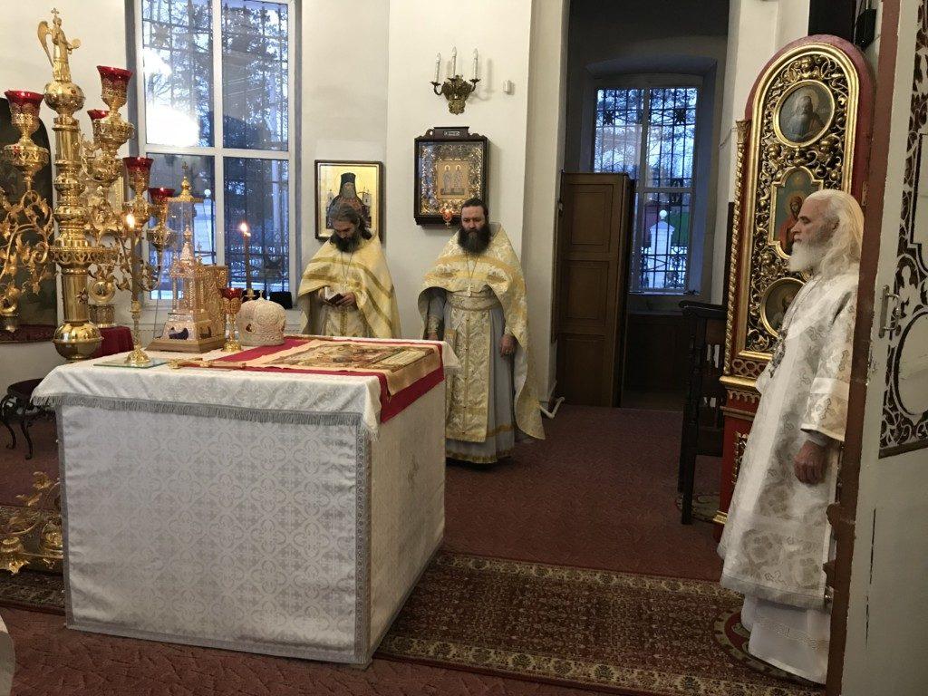 Праздник Обрезания Господня в Кафедральном соборе