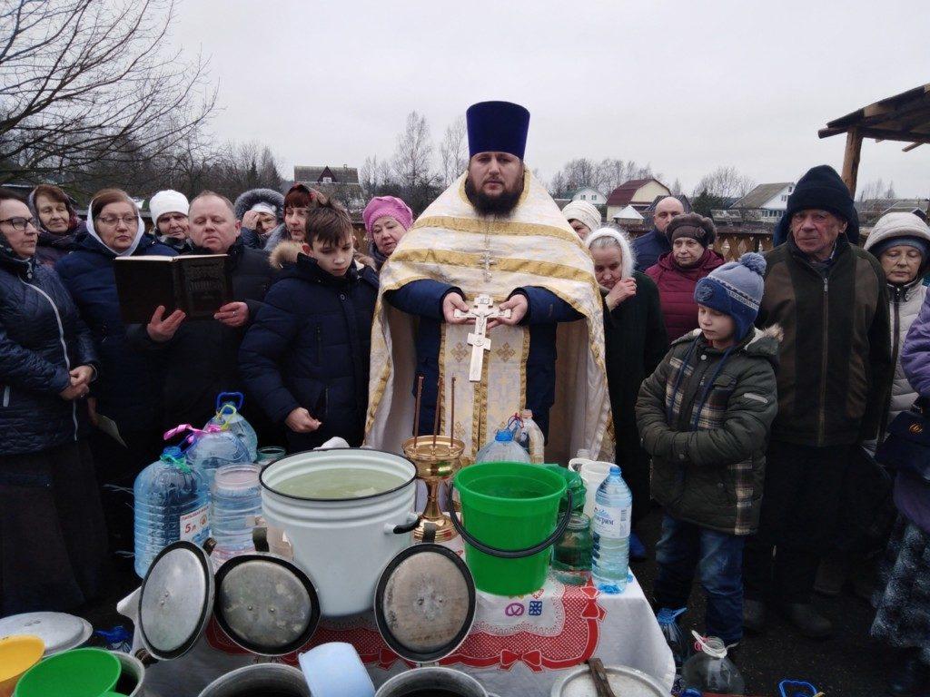 Оленинцы отпраздновали Богоявление