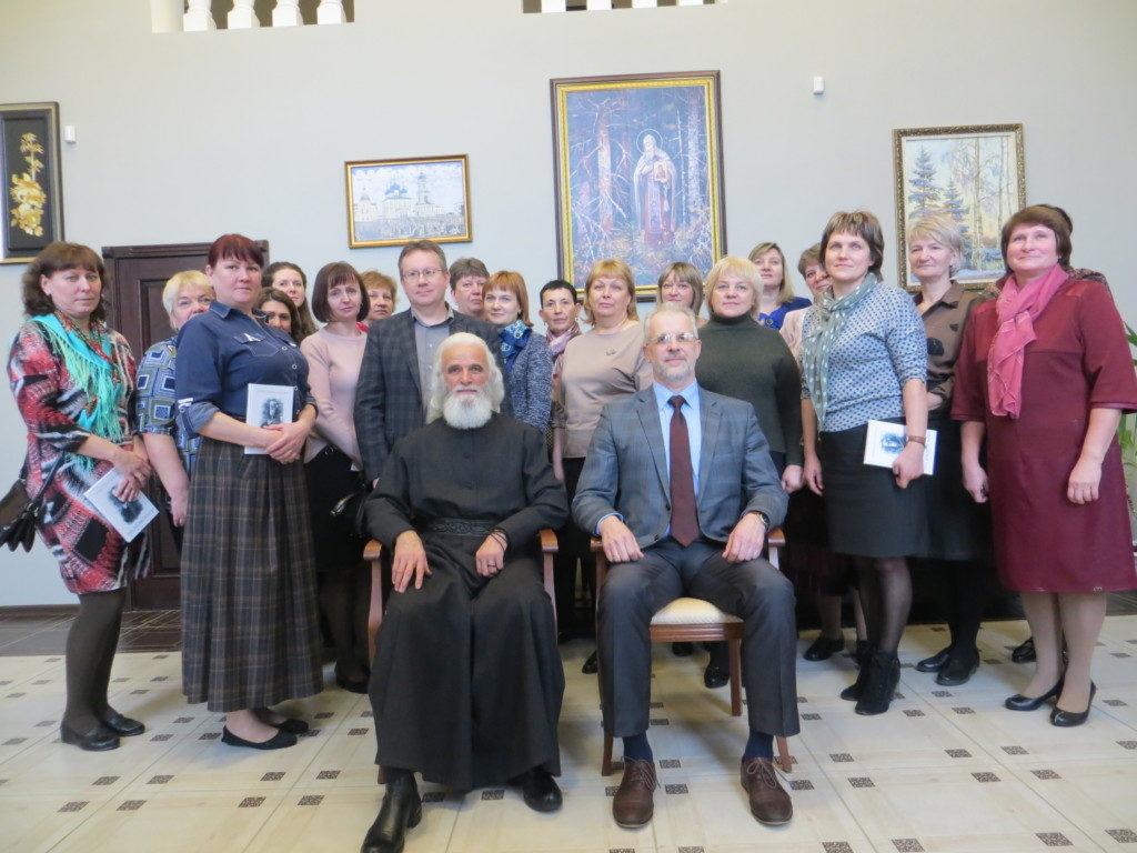 Педагогическая встреча с епископом Адрианом
